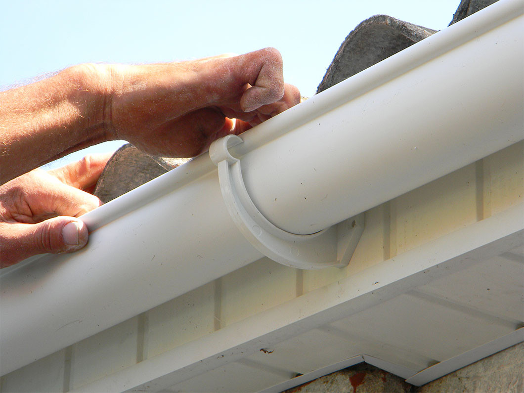Your home can benefit from seamless gutters