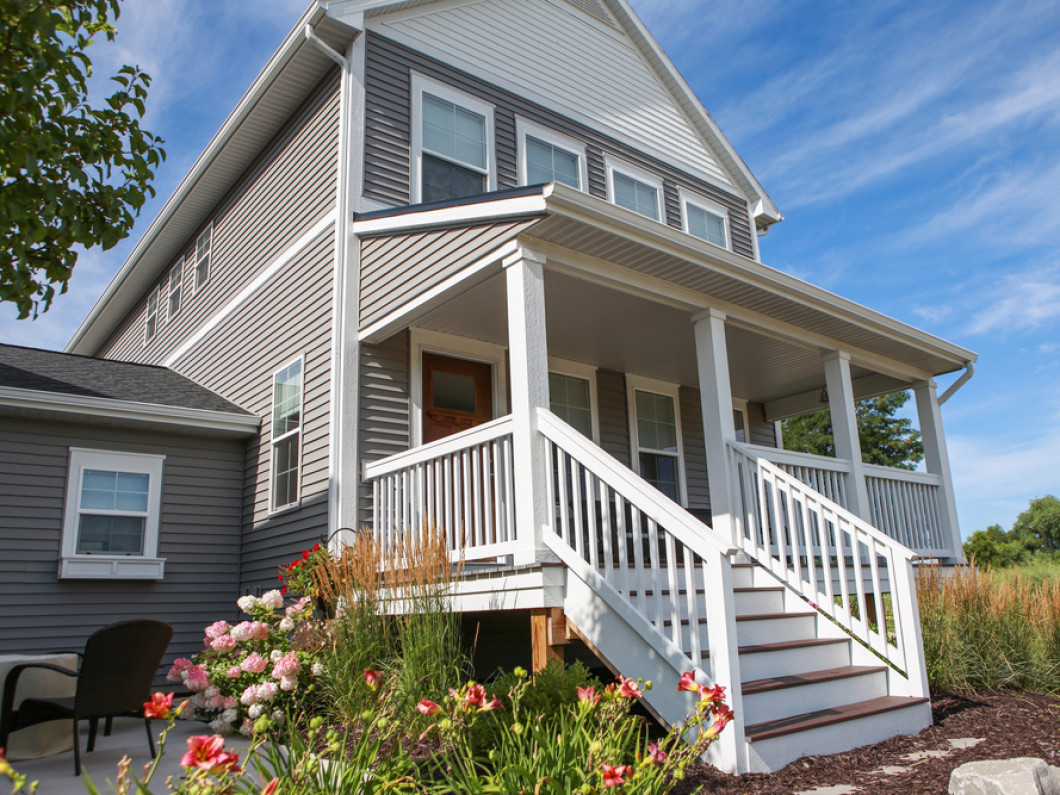 What types of siding are available?